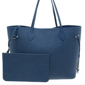 🍒auth $2200 Louis Vuitton neverfull mm epi